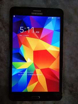 Samsung TAB4. 3Gbram 8gb inbuilt for sell in working confition