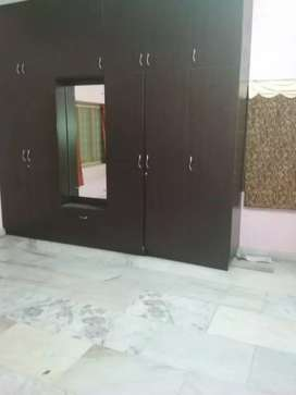 Semi furnished 2 BHK flat with garden near Bypass Road