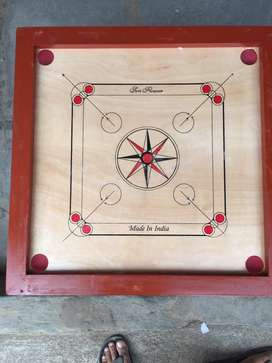 """Carrom board 35""""X35"""" with coins"""