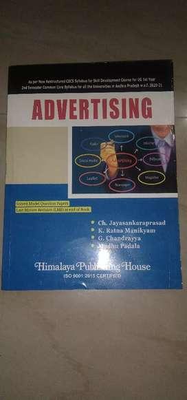 Degree 1st year 2nd sem subject #Advertising