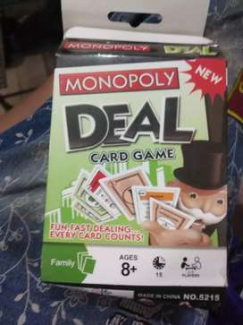 Monoply deal card game