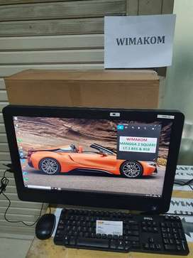 PC all in one DELL 23 inch Core i5 Ram 8GB HDD 500GB VGA dvd Wifi 2nd