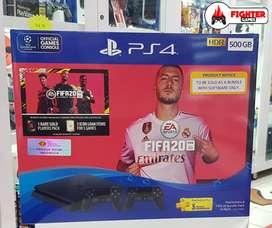 PS4 +FIFA 20 +2STICK GARANSI RESMI SONY