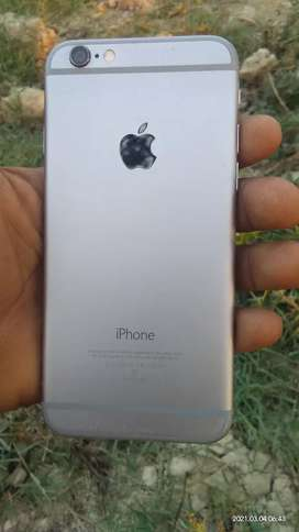 I phone 6 2 32 gb internal White color