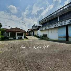 Jual Pabrik + 3 Gudang Jl. Lintas Medan - Pematang Siantar, 6200 mtr