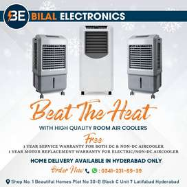 SUMMER OFFERS ON 1.5 SPLIT AC & ROOM AIR COOLERS WITH ICE PACKS