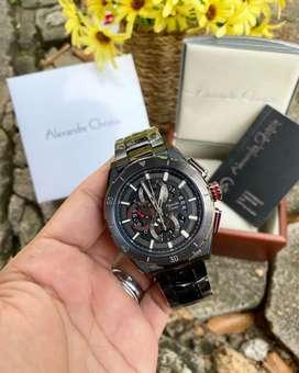 Jam tangan pria Alexandre Christie AC6560 Original