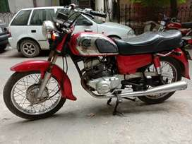 Honda CD185cc Double Silencer Road Master