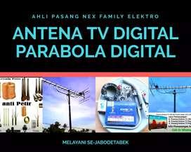 Toko paket pemasangan antena tv cinere