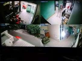 Paket kamera CCTV termurah keamanan rumah Depok Beji wilayah pasang