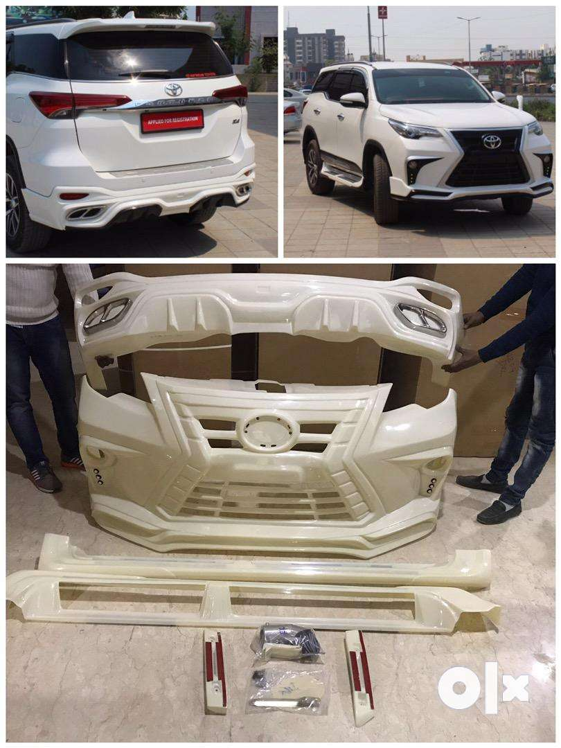New Fortuner lx570 style bodykit