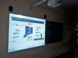 Interactive touch smart board with Projectors , Sony, Panasonic, Epson