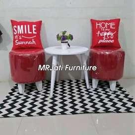 Kursi tamu ,kursi makan, bangku bale bale, code 83