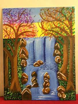 Nature Canvas Painting