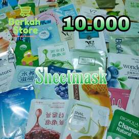 Natural Skin Care Sheet Mask / Masker korea