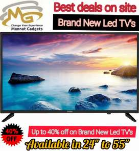 55 inches smart LED TV [light weight + 2 HDMI ports]