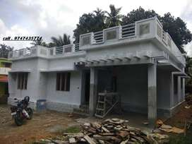 pullad 6.5 cent 3 bedroom new house 43 lakhs
