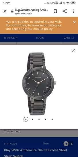 Sonata original watch for women