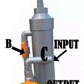 Filter penjernih air praktis