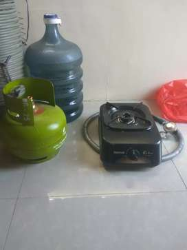 Kompor gas+regulator+selang+tabung melon murah