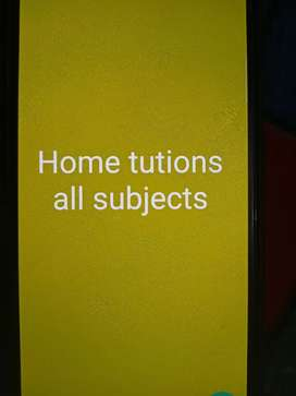 Home Tutions