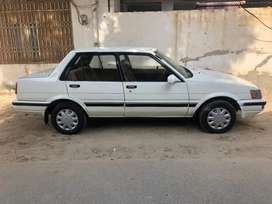 Corolla1986 model sealed engine with new tyre