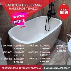 Bathtub Terazzo Bali JT-BT03 Type Jepang P130cm