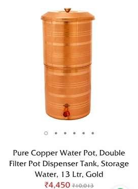 Brass water filter