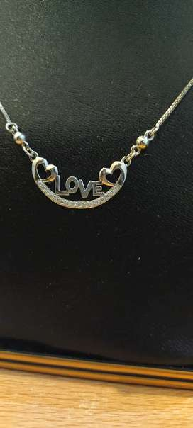 Silver gold plated Love gifted set