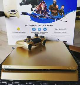 PS 4 golden edition with 2 controllers