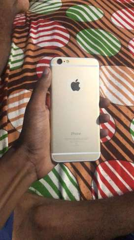 Apple iphone 6 Gold 32 GB  - RS 13,000/-