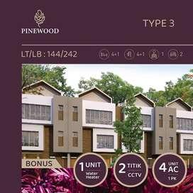 Rumah 3 lantai 5 kamar dekat mall Transtudio Makassar