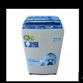 Aqua top load cicilan bisa
