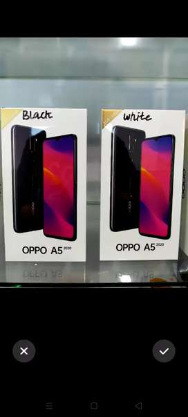 Hp Oppo terbaru A5 3/64 GB