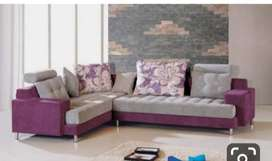 Brand new 5 seater L shape sofa set with 5 year of warranty.