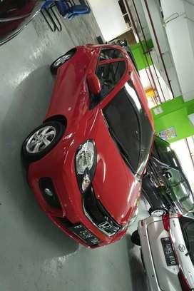 Honda Brio 1.2 E Automatic Th.2017 Merah Seperti Baru