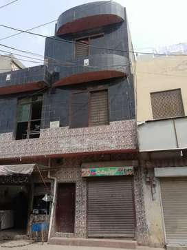 2.5 Marla Triple Story Commercial Building Anam Road Glaxo Town