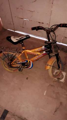 Cycle for sell yellow colour perfect condition