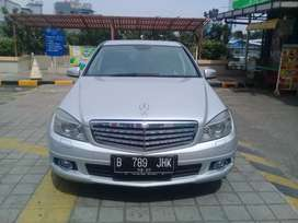 Mercedes Benz C280 W204 AT Silver Ganjil Termurah 2009