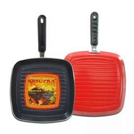 Supra Square Non-Stick Grill Alat Panggang [27 cm]