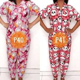 Pj15 Baju Setelan Piyama Kekinian Boneka Dewasa Kartun Celana Panjang
