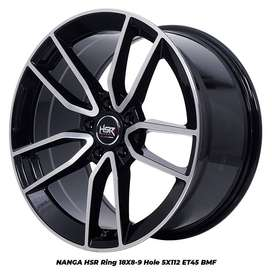 velg hsr nangaR18X8/9 H5X112 ET45 buat mini clubman mercy Audi dll