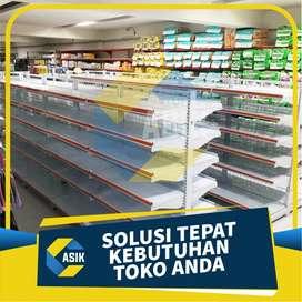 mitra reseller rak minimarket / rak toko / rak supermarket kota palu
