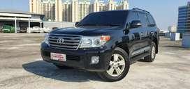 Toyota Land Cruiser VX200 4.5 V8 Diesel 2013 NIK 2012 Hitam pajak 1thn