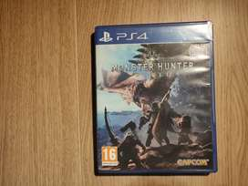 Monster Hunter World - PS4 game (Limited offer)
