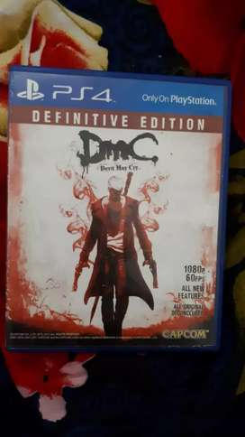Kaset PS4 DEVIL MAY CRY DEFINITIVE EDITION