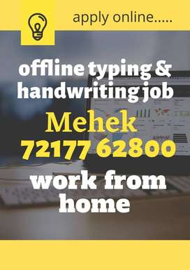 Part time job (WORK FROM HOME)