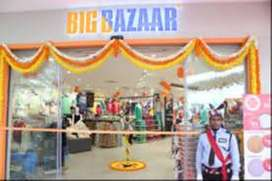 LIMITED VACANCIES ARE AVALIABLE FOR BIG BAZAAR ,,,APPLY NOW