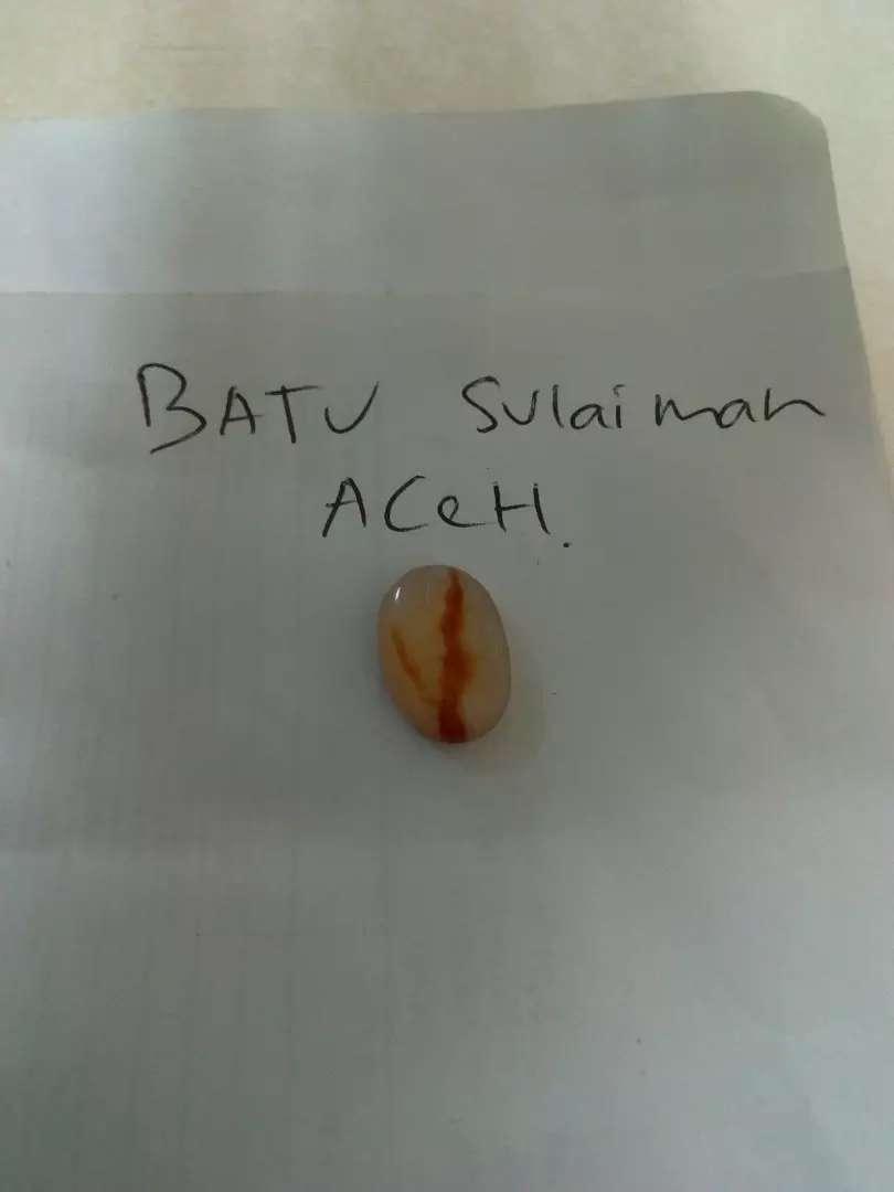 Batu Sulaiman Aceh yg minat dan paham aja di jual dan di lelang murah 0