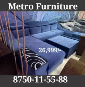 Diwali offer SOFA with Table and 2 puffy